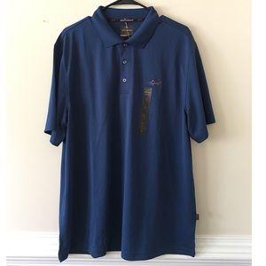 Greg Norman for Tasso Elba men's gold shirt